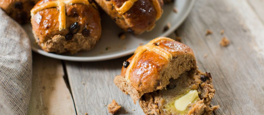 Organic Sourdough Hot X Buns available now at…..